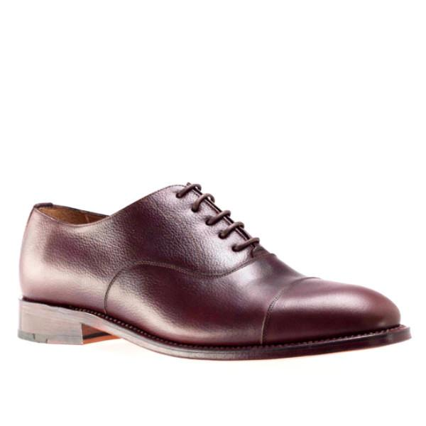 Peter & Porter Downtown Calf Leather Shoe - Brown