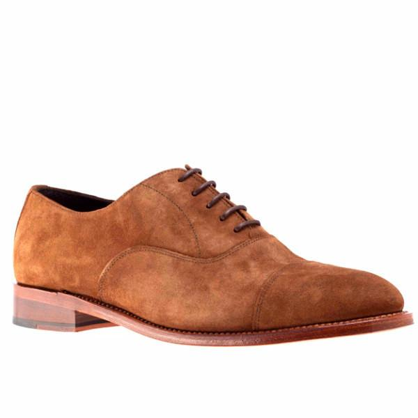 Peter & Porter Downtown Suede Shoe - Camel