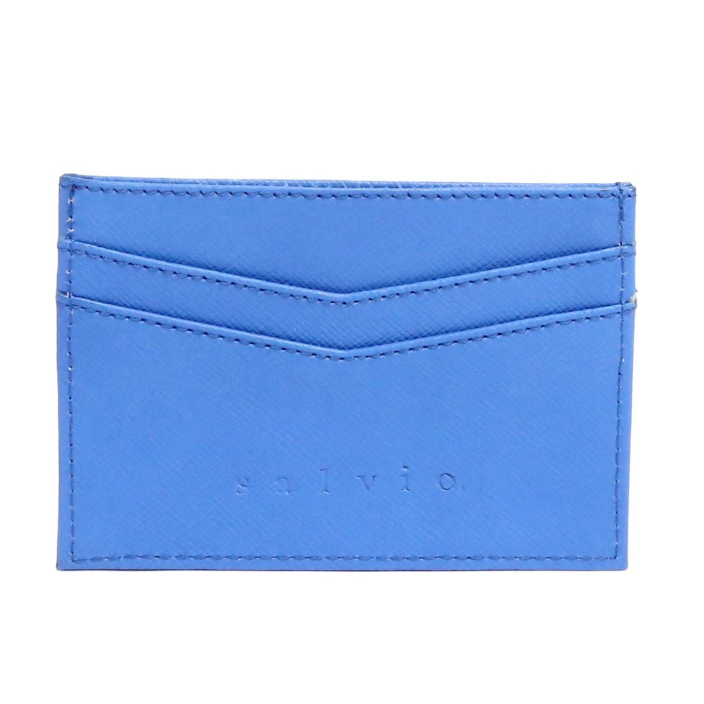 Salvio Berkeley Wallet | Blue | Pattern
