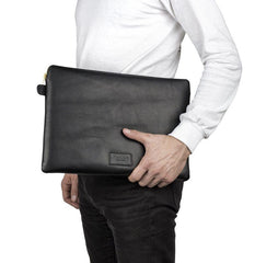 Malle | Tom Leather Digital Folio | Black