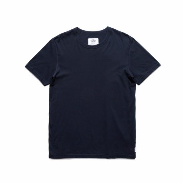 Reigning Champ - Cotton Jersey Short Sleeve Crew Neck - Navy