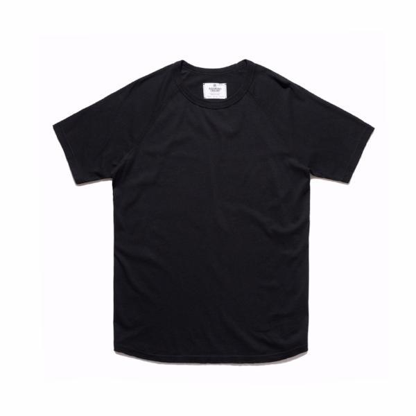 Reigning Champ - Cotton Jersey Short Sleeve Crew Neck - Black