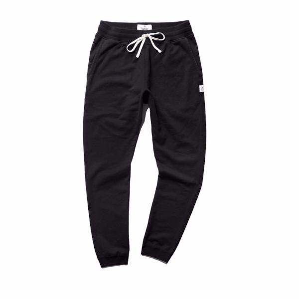 Reigning Champ - MidWeight Terry Slim Sweatpant - Black