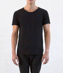 Bandsome Raw Tee - Black