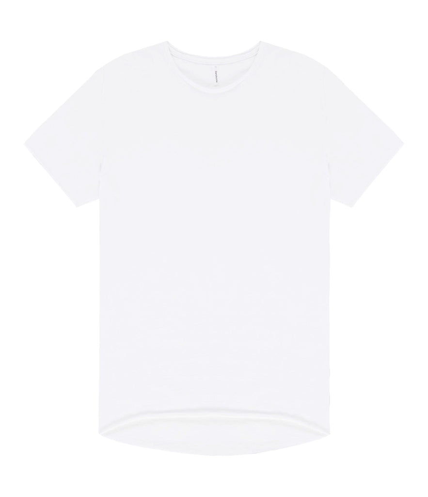 Bandsome | Crew Neck Raw Tee | White