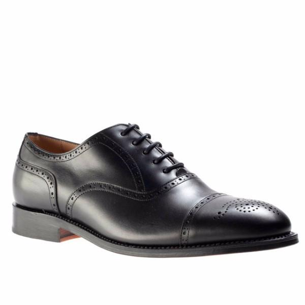 Peter & Porter Jacob Leather Shoe - Black