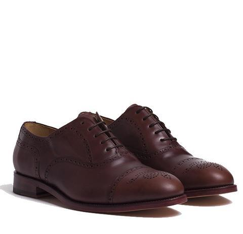 Peter & Porter Jacob Leather Shoe - Brown