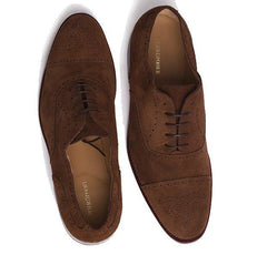 Peter & Porter Jacob Suede Shoe - Camel