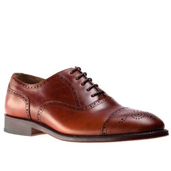 Peter & Porter Jacob Leather Shoe - Cuir