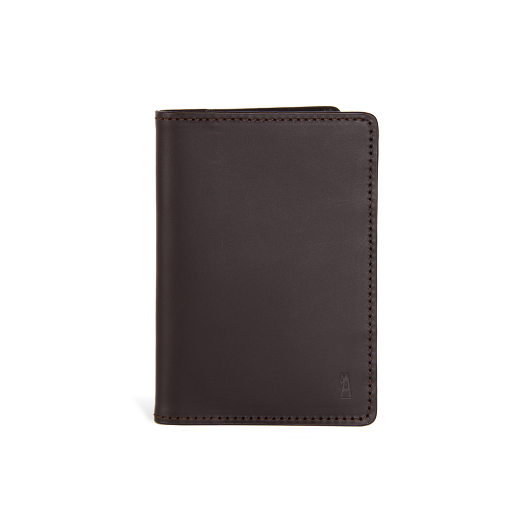 Ateliers Auguste | Wagram Passport Holder | Chocolate