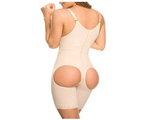 Yvonne Clip and Zip Powernet Body Shaper