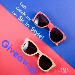 Wood Sunglasses giveaway | Parlour.Club