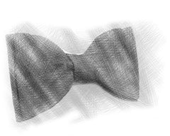 Big Butterfly Bow Tie sketch | Parlour.Club