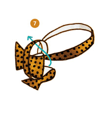 bow tie knot infographics step 7 of 9 | Parlour.Club