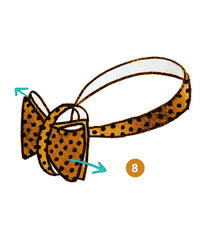 bow tie knot infographics step 8 of 9 | Parlour.Club