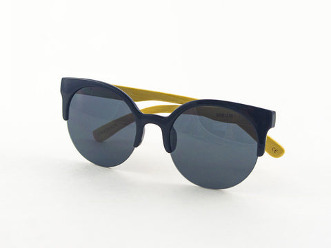 Romy Wave Bamboo Sunglasses side | Parlour.Club