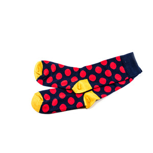 Draw out - Polka dots socks