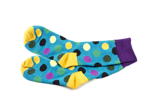 Double Up - Polka dots socks - parlour.club  - 2