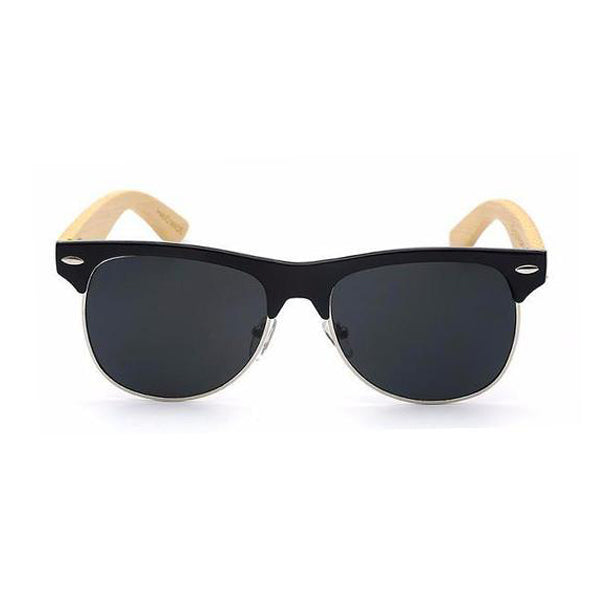 J.F.K Bamboo Sunglasses UV400