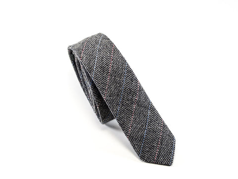 Grey Tie 100% whool - Parlour.Club