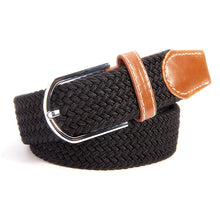 Plain Braided Stretch Belts Parlour.Club
