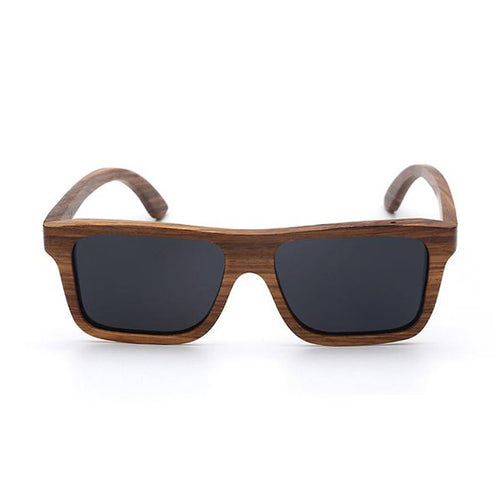 Ajax - Zebra Wood Sunglasses UV400 POLARIZED