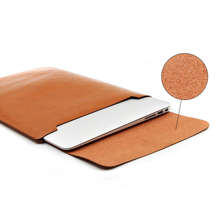 Leather Laptop Ultra-thin Protective Sleeve