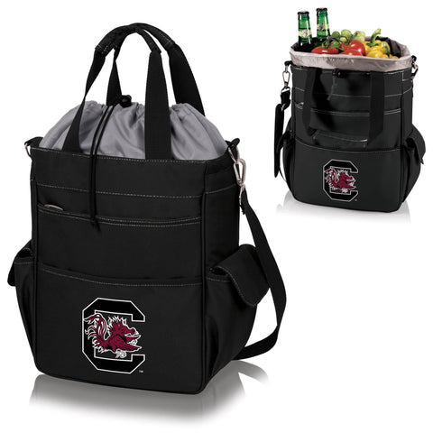 South Carolina Gamecocks Activo Cooler Tote in Black