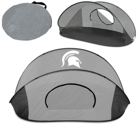 Michigan State Spartans Manta Sun Shelter in Grey