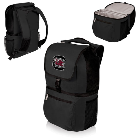 South Carolina Gamecocks Zuma Cooler Backpack in Black