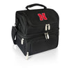 Nebraska Cornhuskers Pranzo Lunch Tote in Black