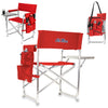 Ole Miss Rebels Sports Chair in Red