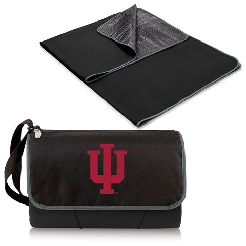 Indiana Hoosiers Blanket Tote in Black