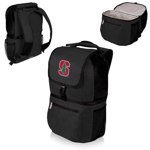 Stanford Cardinal Zuma Cooler Backpack in Black