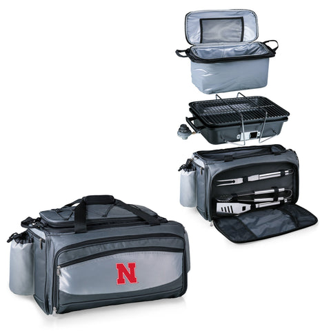 Nebraska Cornhuskers Vulcan Portable BBQ and Cooler Tote