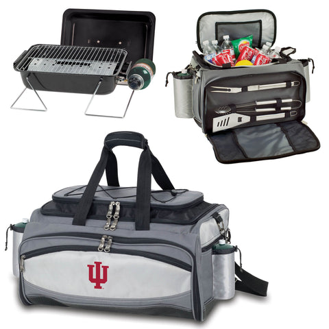 Indiana Hoosiers Vulcan Portable BBQ and Cooler Tote