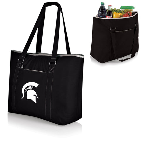 Michigan State Spartans Tahoe Cooler Tote in Black