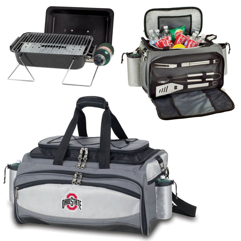 Ohio State Buckeyes Vulcan Portable BBQ and Cooler Tote