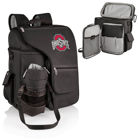Ohio State Buckeyes Turismo Cooler Backpack in Black