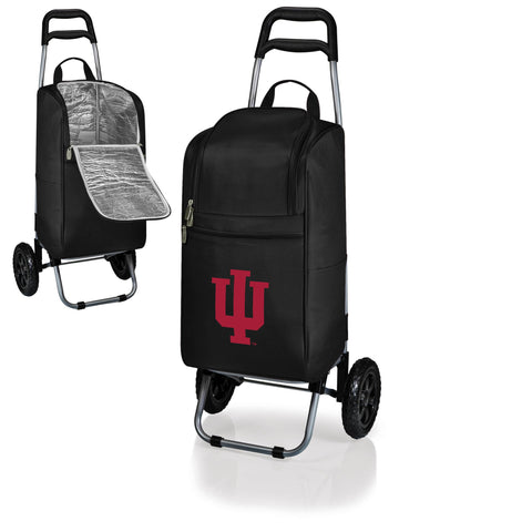 Indiana Hoosiers Cart Cooler in Black