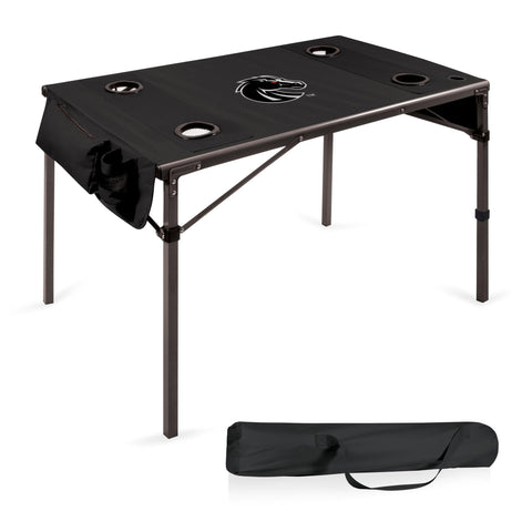 Boise State Broncos Travel Table in Black