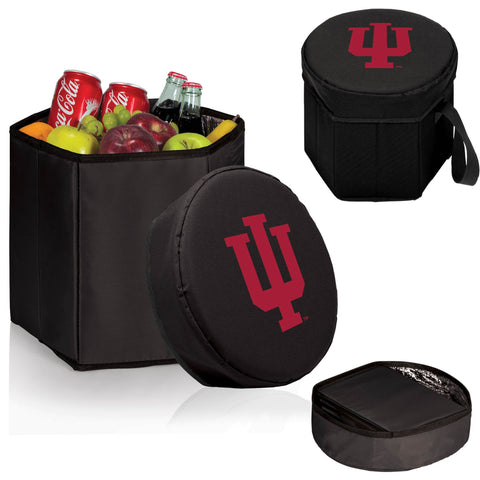 Indiana Hoosiers Bongo Cooler in Black
