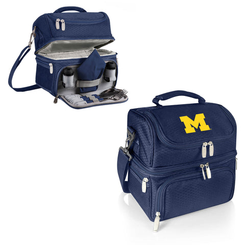 Michigan Wolverines Pranzo Lunch Tote in Navy