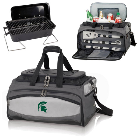Michigan State Spartans Buccaneer Portable BBQ and Cooler Tote