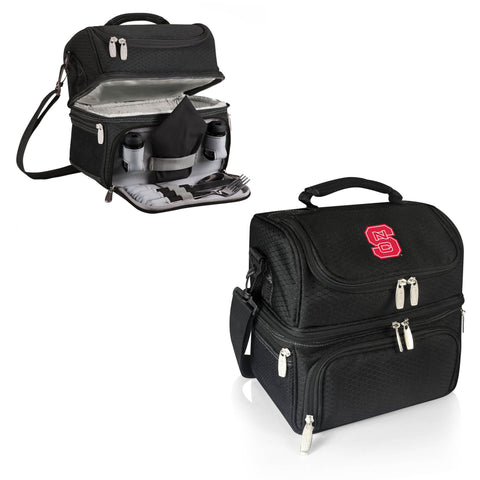 NC State Wolfpack Pranzo Lunch Tote in Black