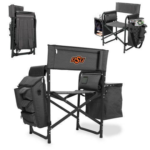 Oklahoma State Cowboys Fusion Chair in Fusion Grey/Black