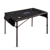 TCU Horned Frogs Travel Table in Black