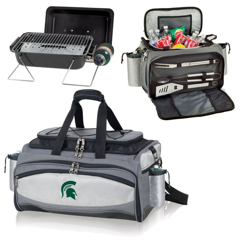 Michigan State Spartans Vulcan Portable BBQ and Cooler Tote