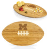 Michigan Wolverines Kickoff Bamboo Cutting Board/Serving Tray