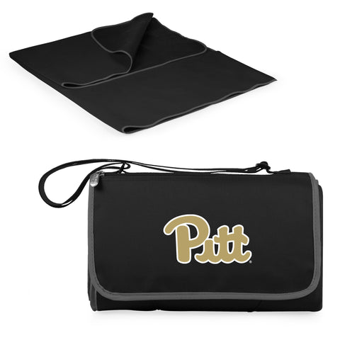 Pittsburgh Panthers Blanket Tote in Black